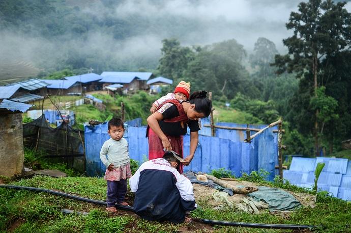 Myanmar IDPs in Kachin