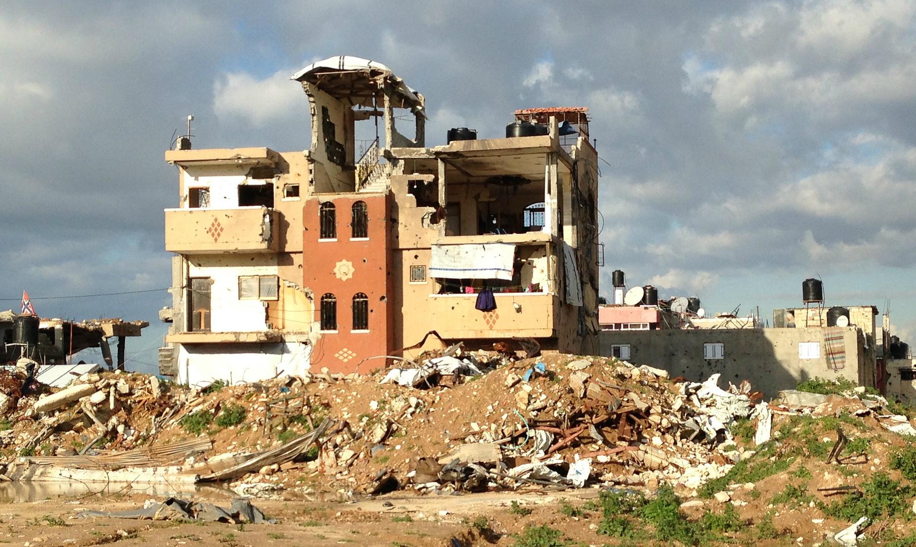 Raji Sourani Destruction in Gaza