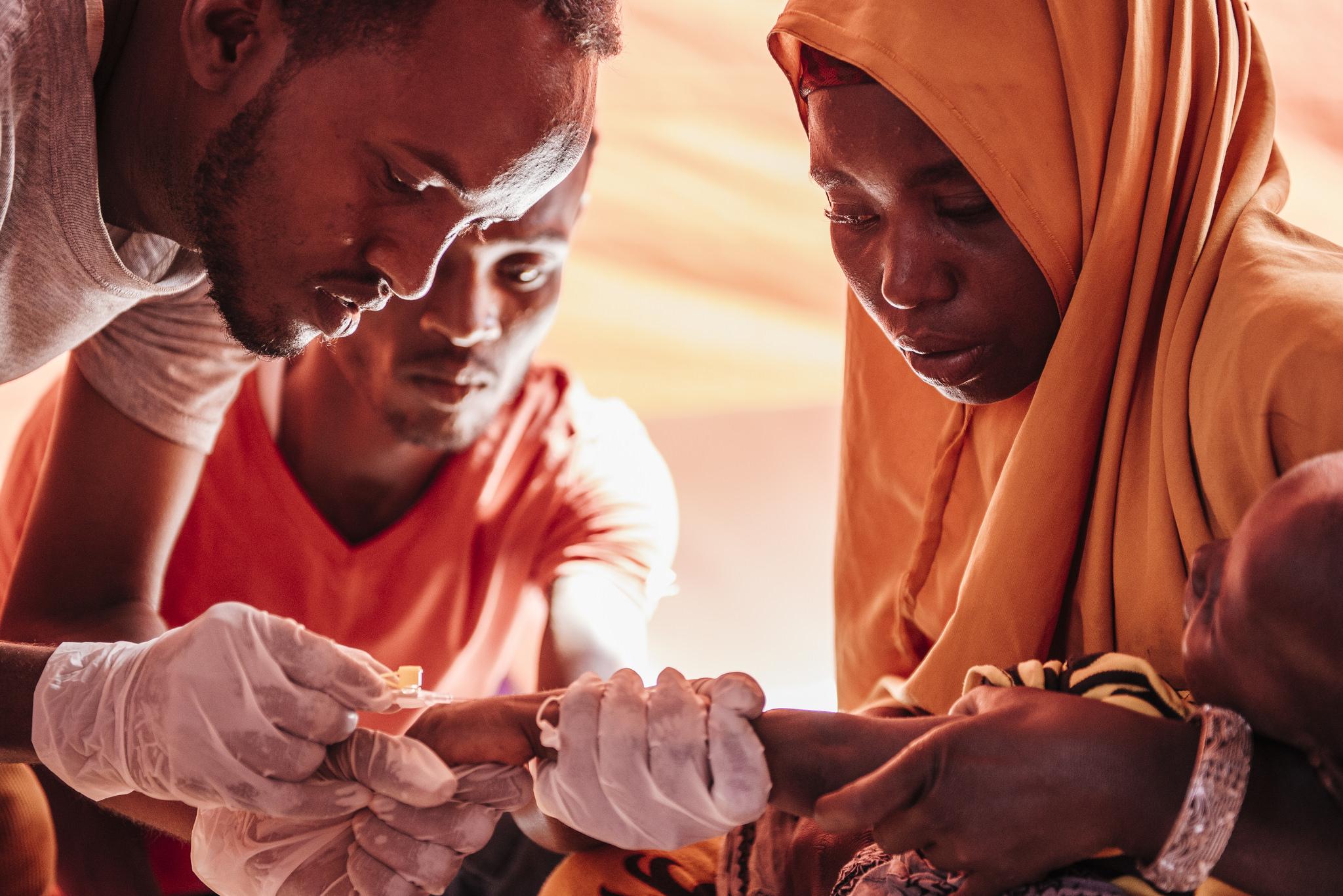 Medical care in Somalia