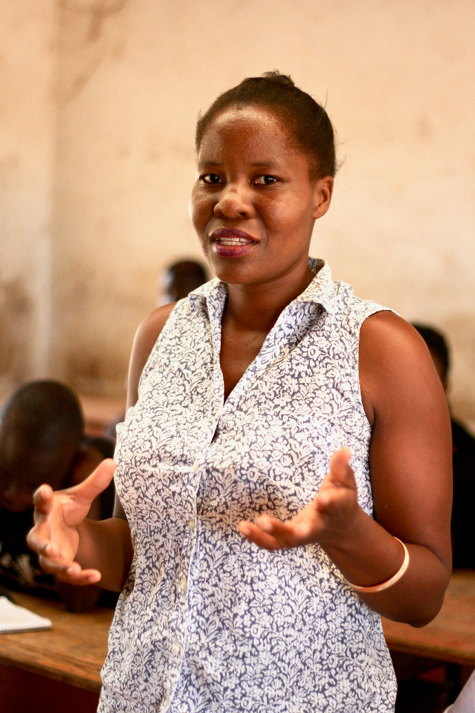 Shakira Nicks, 27 says being part of o the youth group has made her more assertive. Photo: Alan Whelan/Trócaire.