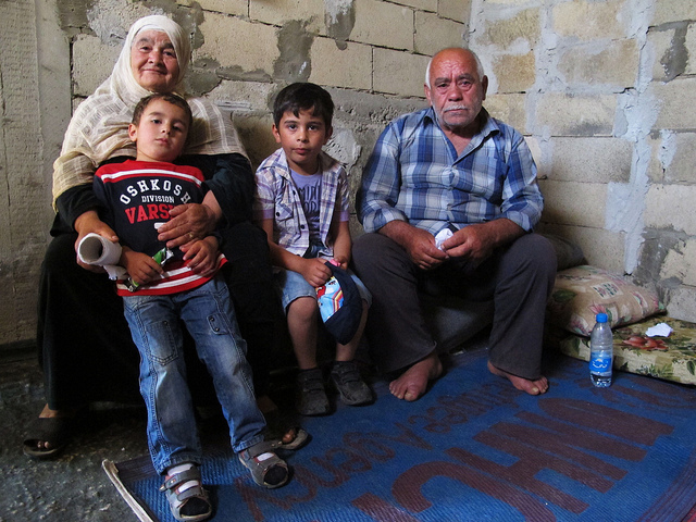 Syrian refugees in Lebanon
