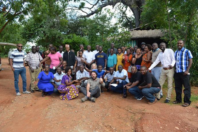 Agroecology workshop in Uganda