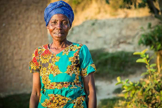 Ancilla has become an activist for women's rights in her community in Rwanda. Photo : Andrea Sciorato