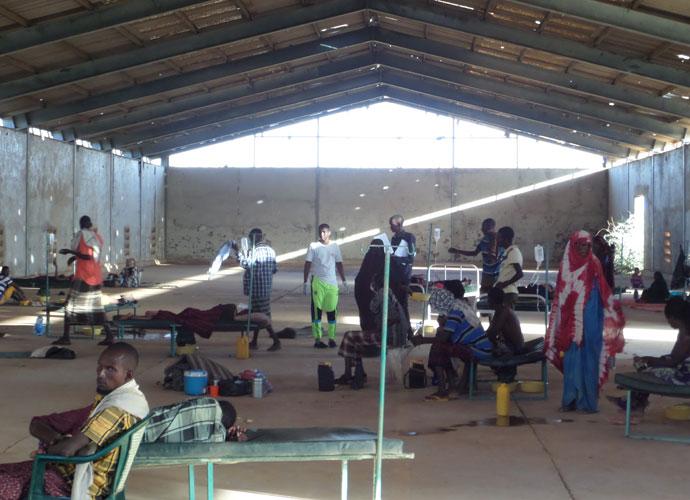 Acute diarrhoea and cholera centre in Luuq, Somalia. Photo: Abdi Tari Ali/Trócaire