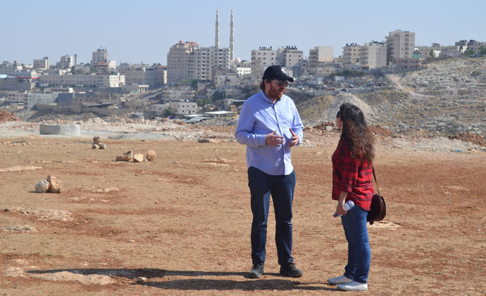 2FM Breakfast Republic host Bernard O'Shea meets communities on the outskirts of Jerusalem who live under threat of home demolition in order to facilitate the expansion of illegal Israeli settlements.