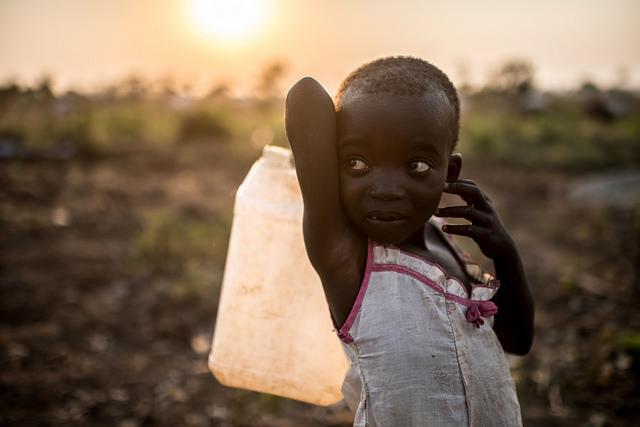 South Sudan refugee camp in Uganda