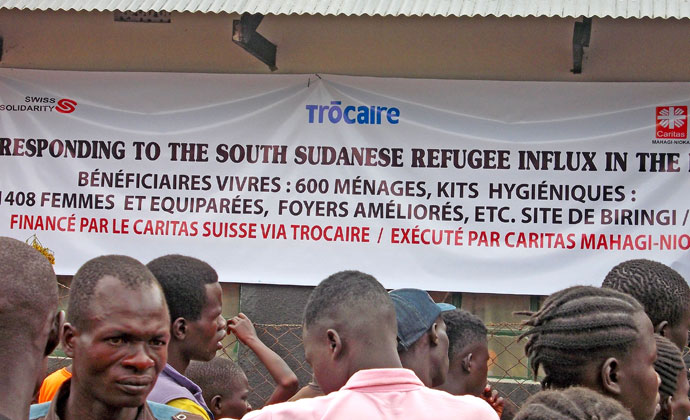 sign at biringi camp