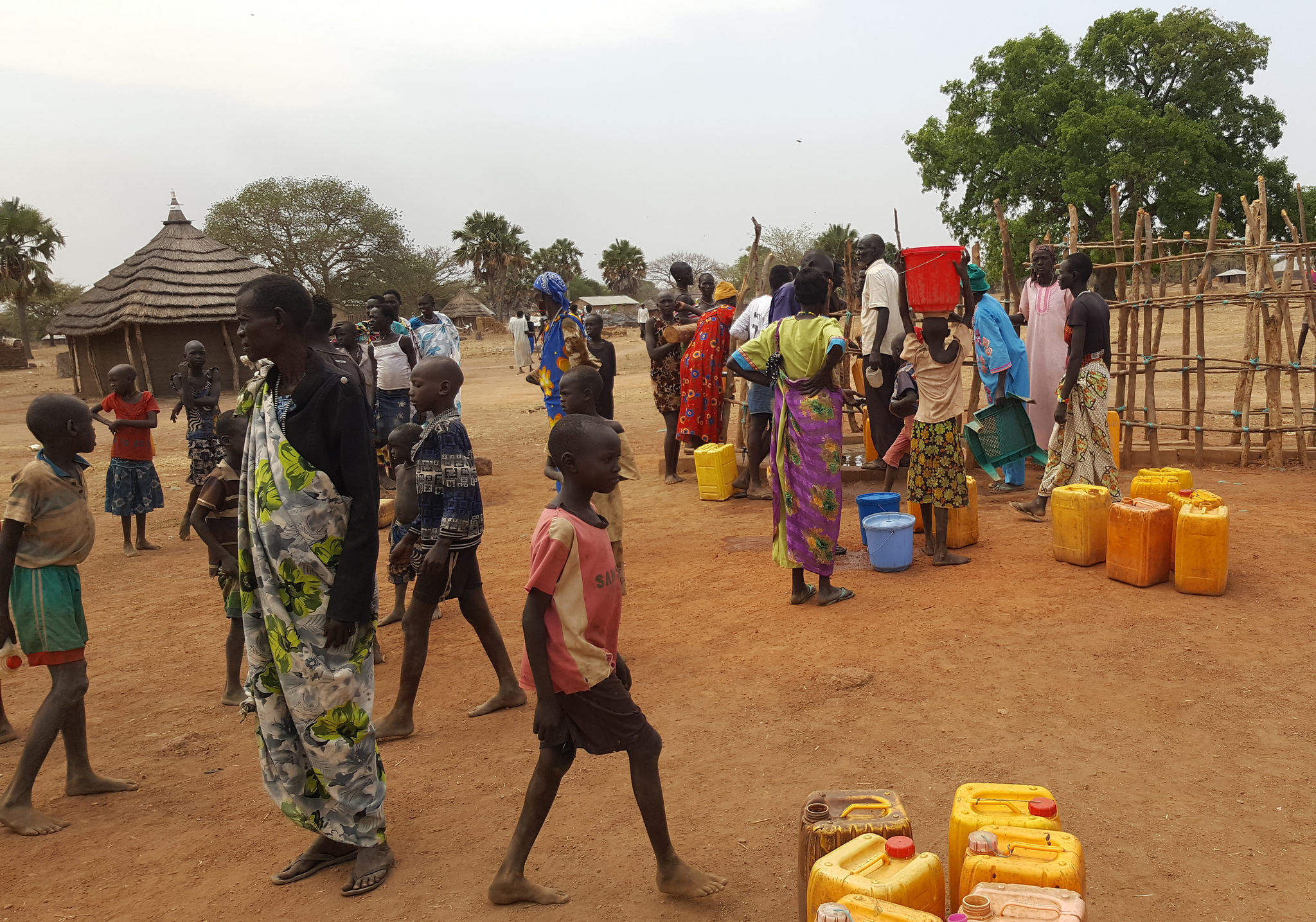 New borehole in South Sudan