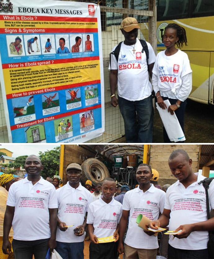 Caritas Trocaire Ebola response