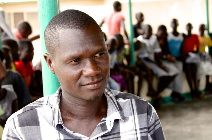 Charles Iria (35) is the Deputy Director of Caritas Lodwar