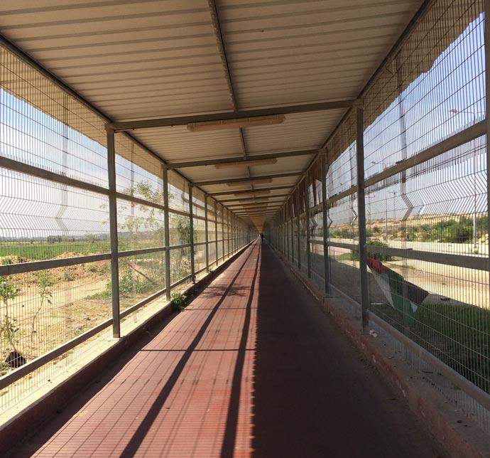crossing into gaza
