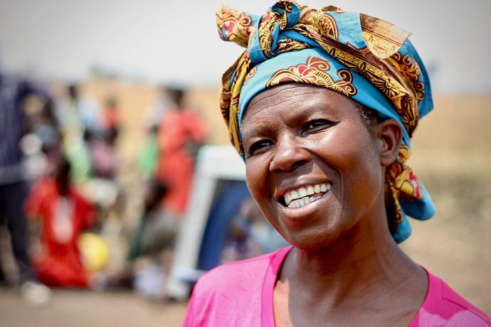 Chrisy Kimwendo from Chilipaine, Zomba, Malawi. Photo: Alan Whelan/Trócaire.