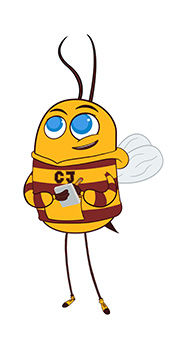 CJ the climate justice bee