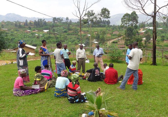 Community meeting Mucaca to Buranga Village Bridge Project