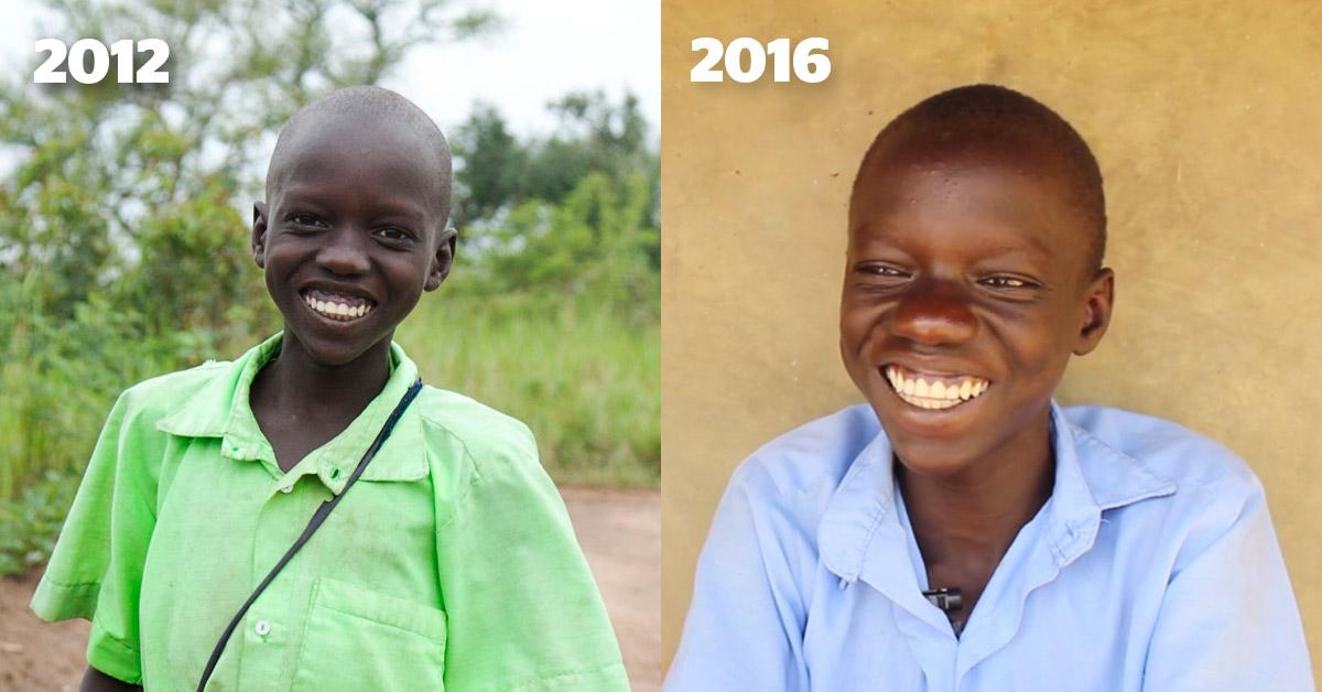 Daniel in 2012 and in 2016