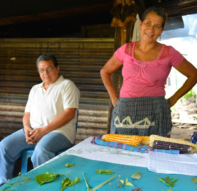 Doña Tina is also an expert in the healing properties of local plants and herbs