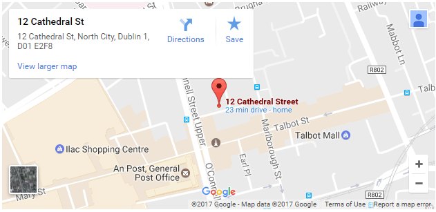 Map of Dublin