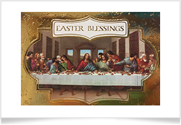 Easter Last Supper Card