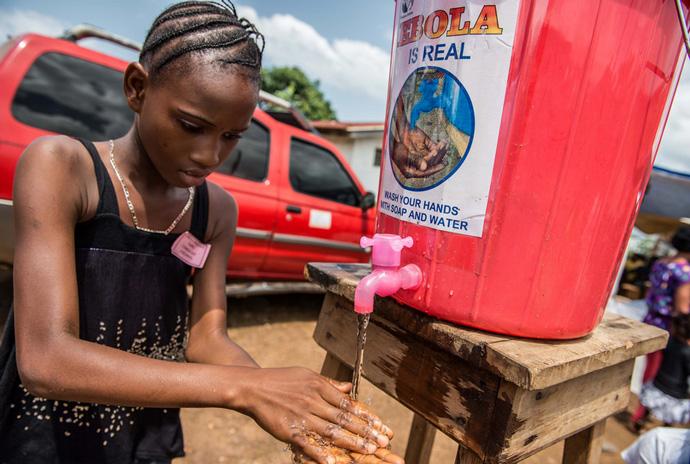 Prevent the spread of Ebola