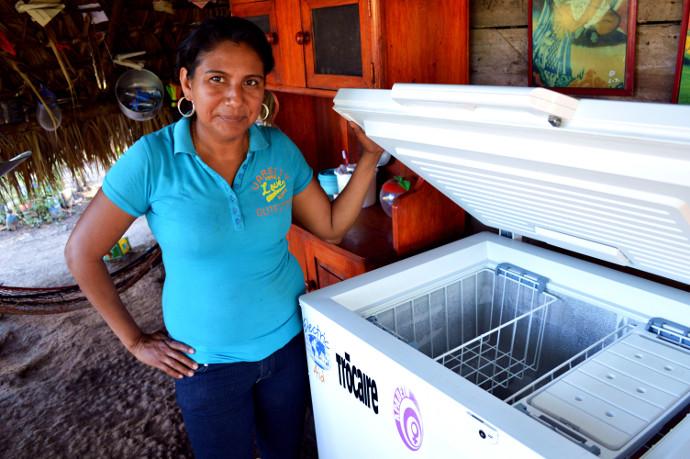 María de los Santos Ruíz lives in the rural community of La Picota, Nicaragua.