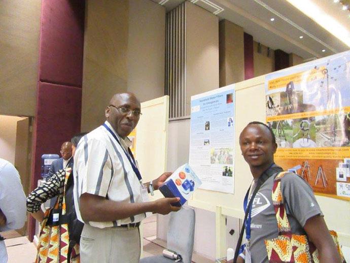 Emmanuel Karulinda and Janvier Ngabo Trocaire Rwanda