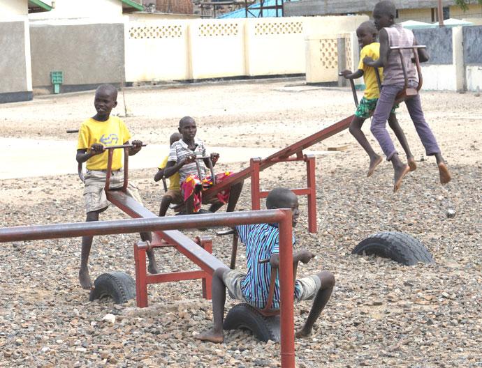 Former Street Children at Nadopoyen Centre for Street Children in Lodwar Town