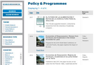 guatemala policy and programme resources