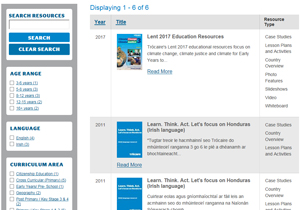 honduras development education resources