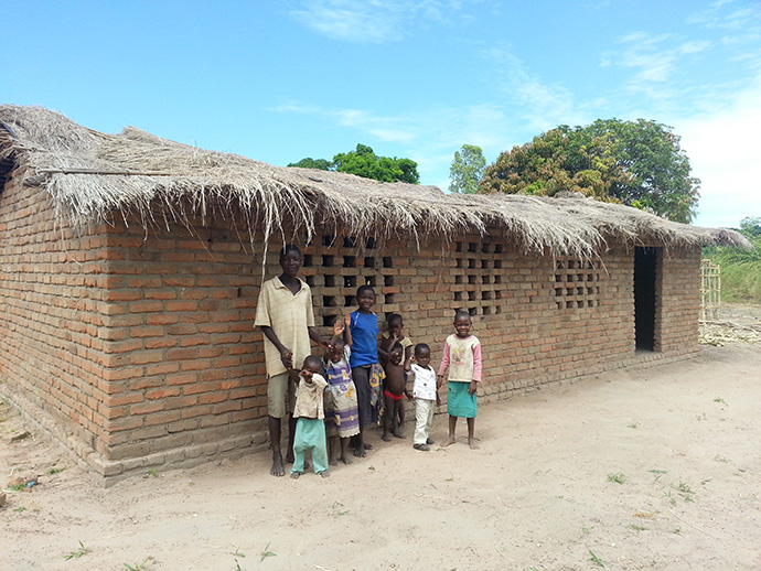 New School Building in Malawi