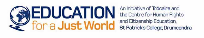 Education for Just World logo