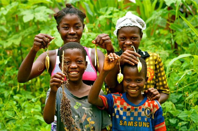 The Kamara children
