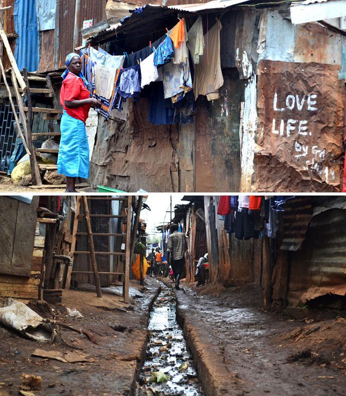 kibera slums kenya