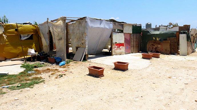 Refugee Camp in Lebanon's Bekka Valley