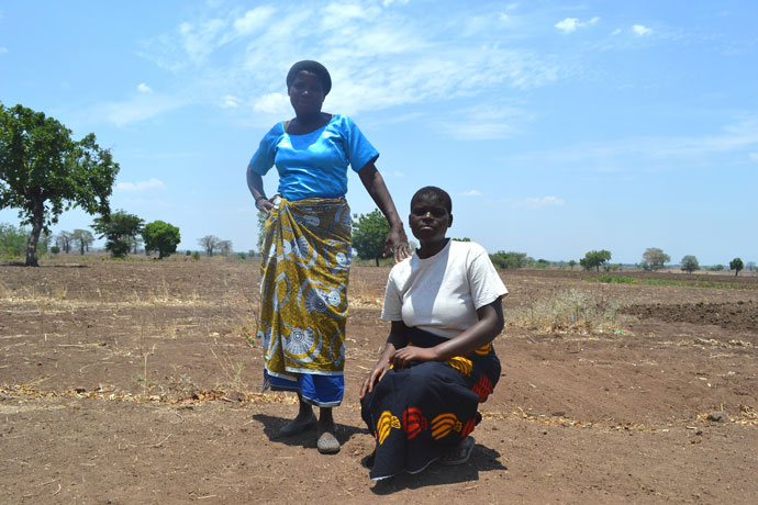 Mary Belo in southern Malawi