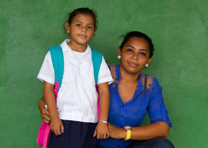 Miriam and Maria, Cuyamel, Honduras
