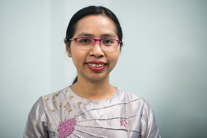 Kaythi Myint Thein is deputy director of the Gender Equality Network in Myanmar. The Gender Equality Network (GEN) is a group of over 100 organisations in Myanmar that are active on women's rights.