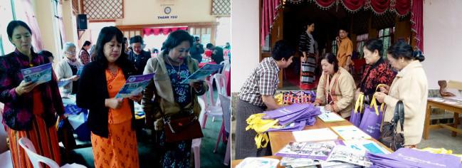 Voter education for women in Myanmar