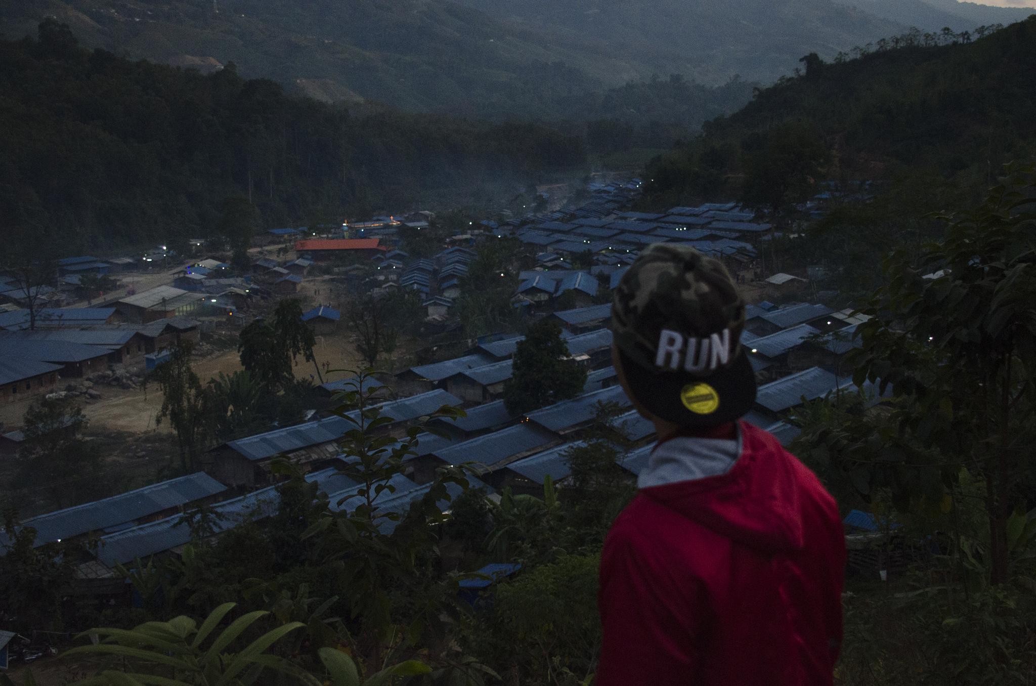Myanmar camps
