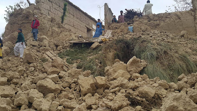 Pakistan earthquake damage october 2015
