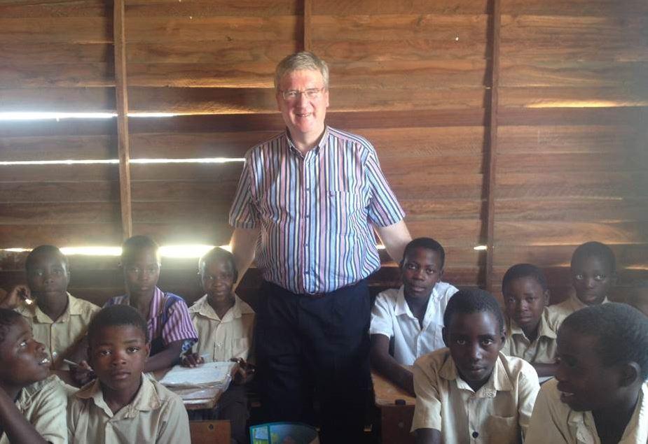 Pat McDonagh in Zimbabwe