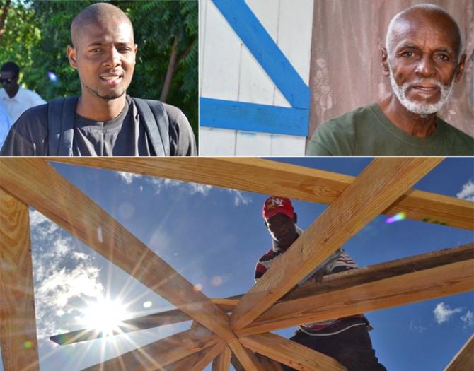 Haiti anniversary collage