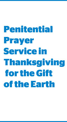 Penitential prayer service