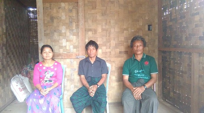 People displaced by conflict in Kachin, Myanmar, where Trócaire supports humanitarian aid