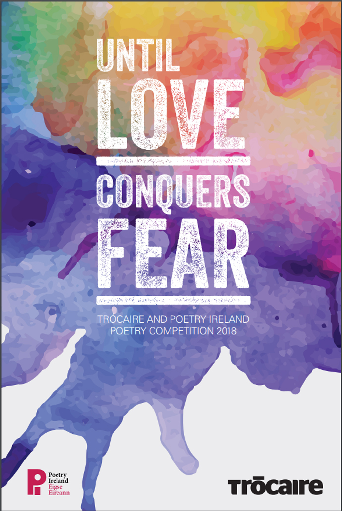Until Love Conquers Fear 2018 poetry competition booklet