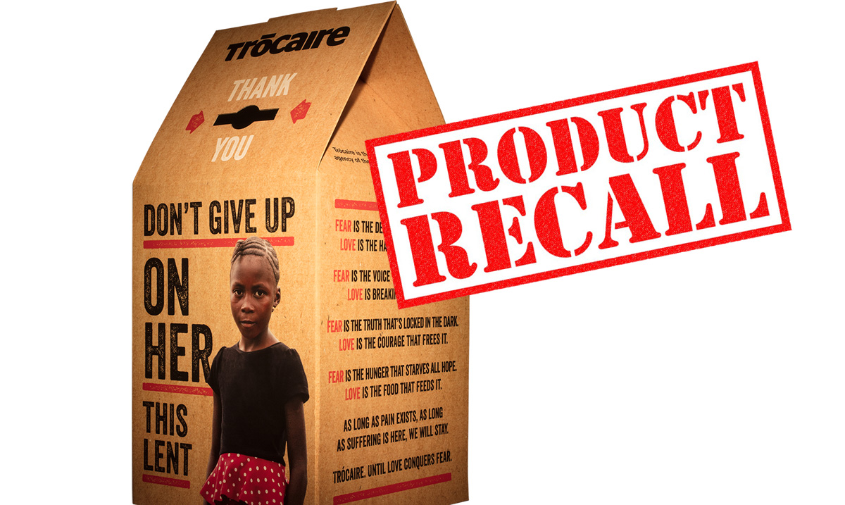Trocaire box product recall