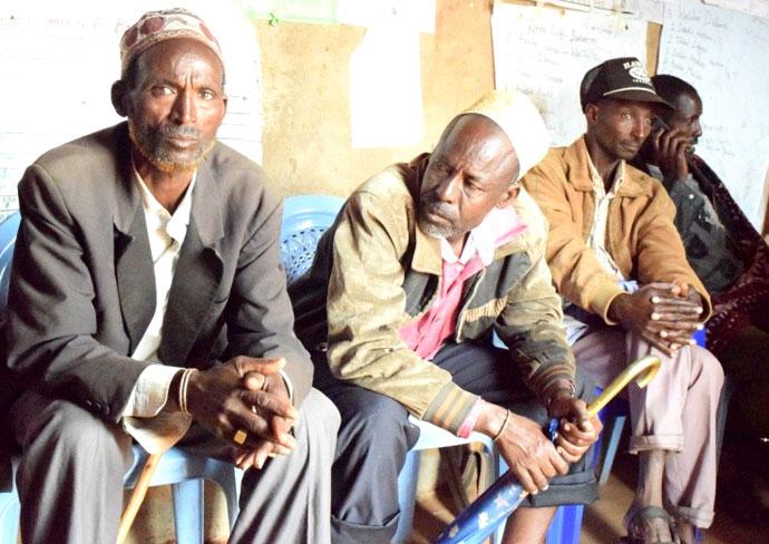 qola roba and other elders in borana, ethiopia