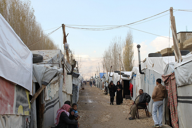 Refugee Camp Lebanon