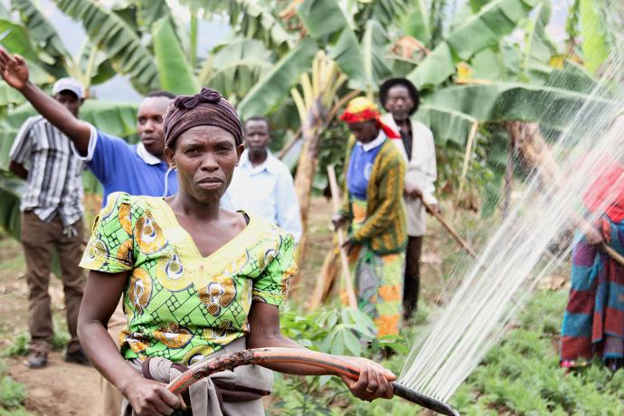 Rwanda community garden