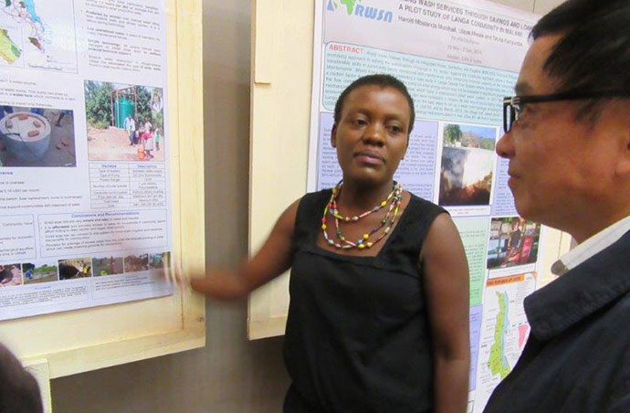 Salome Mumba from Trócaire Malawi