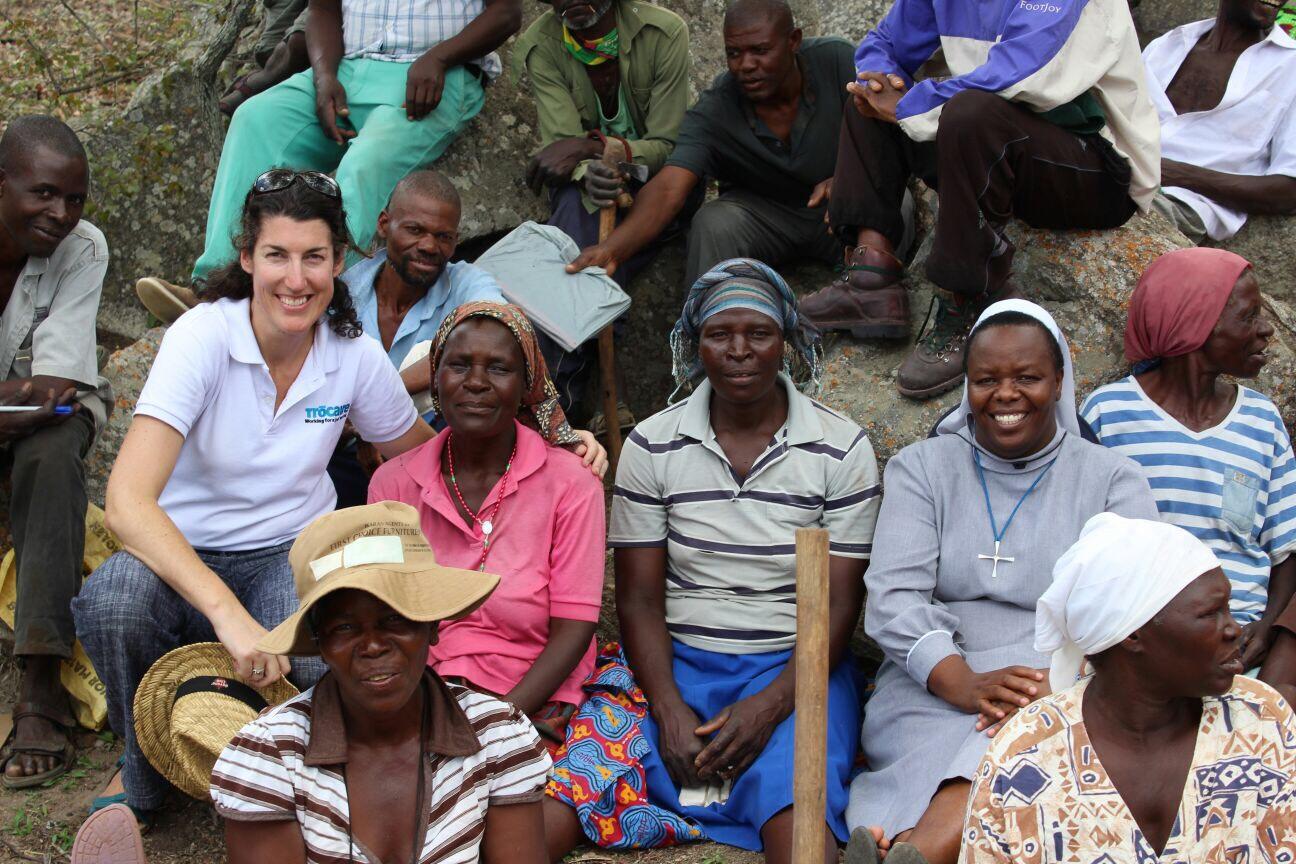 Sarah McCann in Zimbabwe